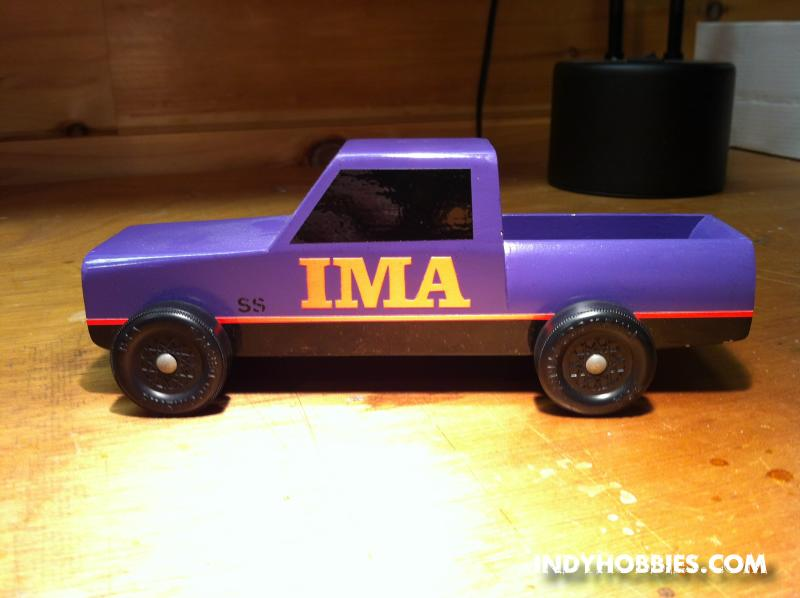 IMA Another View Of The Same Truck Cab Is Cut From Back