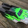 Love the colors this local racer wanted for his E-Truggy body!  Its mounted on a Losi.  All Faskolor.