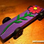 "Another car for my youngest daughter.  She called this one ""Flower Power"" and it was pretty fast!"
