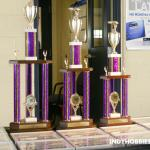 Ya, we had some major trophies for our adults Pinewood Derby!
