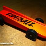 Fireball was FAST!  This was created for the Brownsburg Motorsports Celebration Pinewood Derby.  You can find more information on this great event at www.BrownsburgRacing.com.